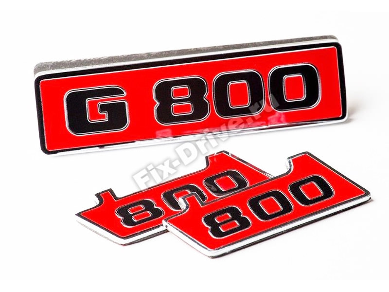 Emblem / Badge grill and fender Mercedes G-Class w463 Brabus G800